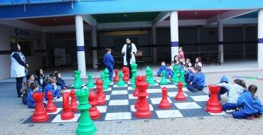 Uma aula diferenciada de Xadrez