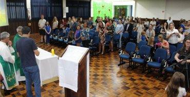 Missa de Ação de Graças reúne a Comunidade Escolar
