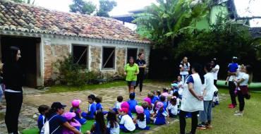 Diversificado Infantil Vespertino visita o Engenho e Casa dos Andrades