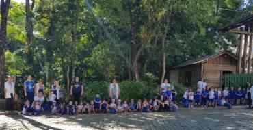 Período Diversificado (EI) visita o Horto Florestal