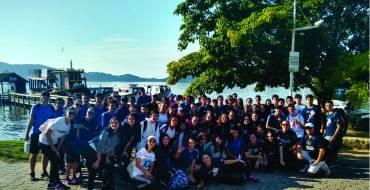"""Projeto """"Conexão 9º ano e Ensino Médio: Trilha da Costa da Lagoa"""""""