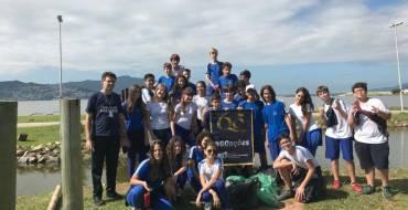 Projeto 60 ações do Bem – Parque de Coqueiros – 8º anos