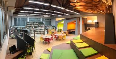 Inauguração da nova Biblioteca Madre Paulina